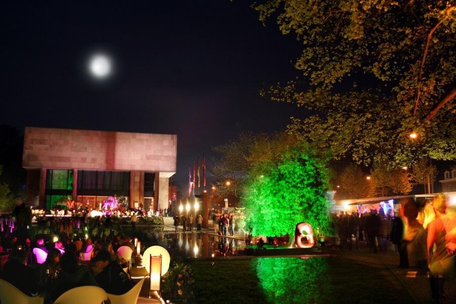 nachtansichten skulpturenpark kunsthallebielefeld